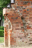 Fragment of Romanesque cloister in Doberan Royalty Free Stock Photos