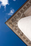 Fragment of the roof of the old building Royalty Free Stock Image