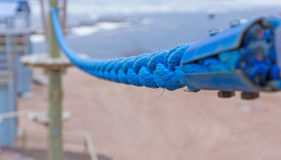 Fragment of rope Park Stock Images