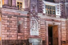 Fragment of Saint Michael Castle Mikhailovsky in St.Petersburg. Russia Royalty Free Stock Images