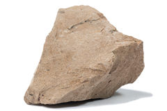 Fragment of sandstone Royalty Free Stock Photography