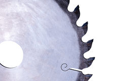 Fragment saws for woods Royalty Free Stock Image