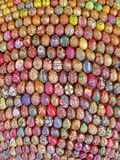 The fragment of sculpture of 3000 painted Easter eggs, Kiev, Stock Photos