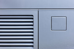 Fragment of side bus Royalty Free Stock Images