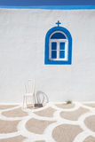 Fragment of small church. In Kos island, Greece Royalty Free Stock Image