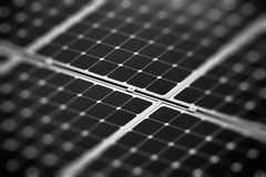 Fragment of the solar battery Royalty Free Stock Image