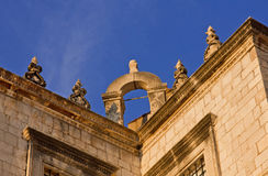 Fragment of Sponza Palace in Dubrovnik, Croatia Royalty Free Stock Images