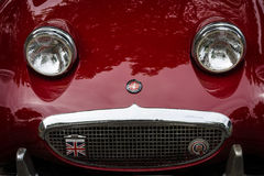 Fragment of a sports car Austin-Healey Sprite Mk I Royalty Free Stock Photo