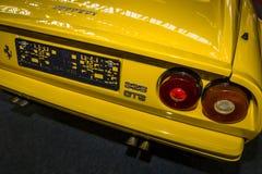 Fragment of sports car Ferrari 328 GTS. royalty free stock photo