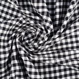 Fragment of a squared cloth Stock Photos
