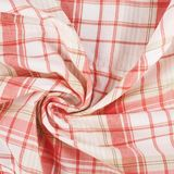 Fragment of a squared cloth Royalty Free Stock Photos
