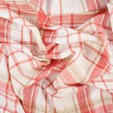Fragment of a squared cloth Royalty Free Stock Photography
