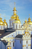Fragment of St. Michael cathedral in Kyiv. Stock Photography