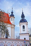 Fragment of St Michael Church and its Bell tower in the Old Town Stock Image