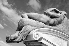 Fragment of the statue of David. Florence, Italy Stock Image