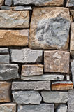 Fragment stone wall Royalty Free Stock Photo