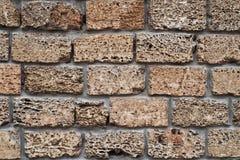 Fragment stone wall Royalty Free Stock Photos
