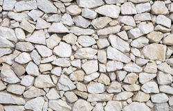 Fragment of a stone wall Royalty Free Stock Photos