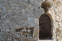 Fragment of stone wall Royalty Free Stock Photography