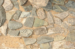 Fragment stone wall Stock Images