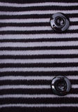 Fragment of Striped Coat Royalty Free Stock Photography