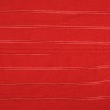 Fragment of a striped red cloth Stock Photo