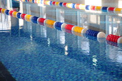Fragment of swimming-bath Royalty Free Stock Photos