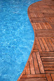Fragment of a swimming pool Stock Photos