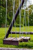 Fragment swings on grass Royalty Free Stock Image