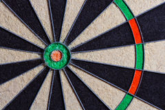 Fragment of target dartboard background, texture Stock Image