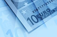 Abstract euro money background Royalty Free Stock Photo
