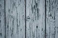 Fragment of a texture of  an old painted weathered wooden door Royalty Free Stock Photos