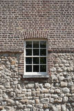 Wall of castle with window, Tower of London - UK Royalty Free Stock Photos