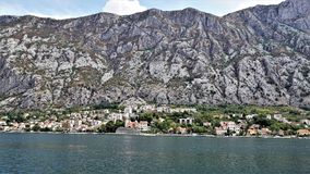 A fragment of the Town of Kotor, Montenegro. royalty free stock photo
