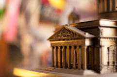 Fragment of a toy Isaac's Cathedral Royalty Free Stock Images
