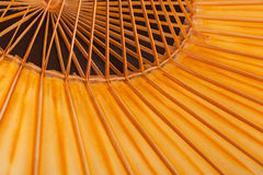 Fragment of a traditional Japanese umbrella Royalty Free Stock Photos