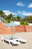 Fragment of tropical resort. Stock Images