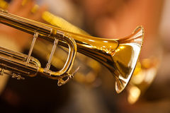 Fragment trumpet Royalty Free Stock Photo