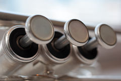 Fragment trumpet Royalty Free Stock Images