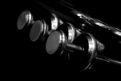 Fragment trumpet Royalty Free Stock Photography