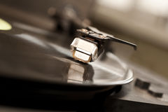 Fragment of a turntable Royalty Free Stock Image