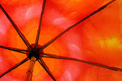 Fragment of umbrella. To serve as background Royalty Free Stock Photo