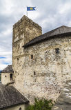 A fragment of the upper castle Royalty Free Stock Image