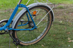 Fragment of urban bicycle. Stock Images
