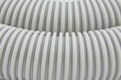 Fragment of vacuum cleaner's pipe royalty free stock photos