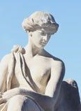 Fragment van antiek standbeeld van godin van liefde Aphrodite (Venus) royalty-vrije stock fotografie