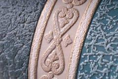 Fragment van behang Stock Afbeelding