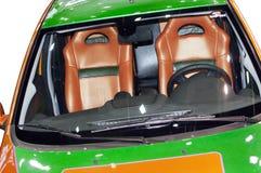 Fragment van de auto Stock Foto