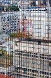 Fragment van de bouw Stock Foto's