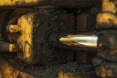 Fragment van de hydraulische aandrijving royalty-vrije stock fotografie